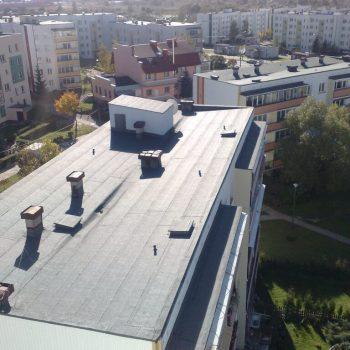 Dach budynku mieszkalnego